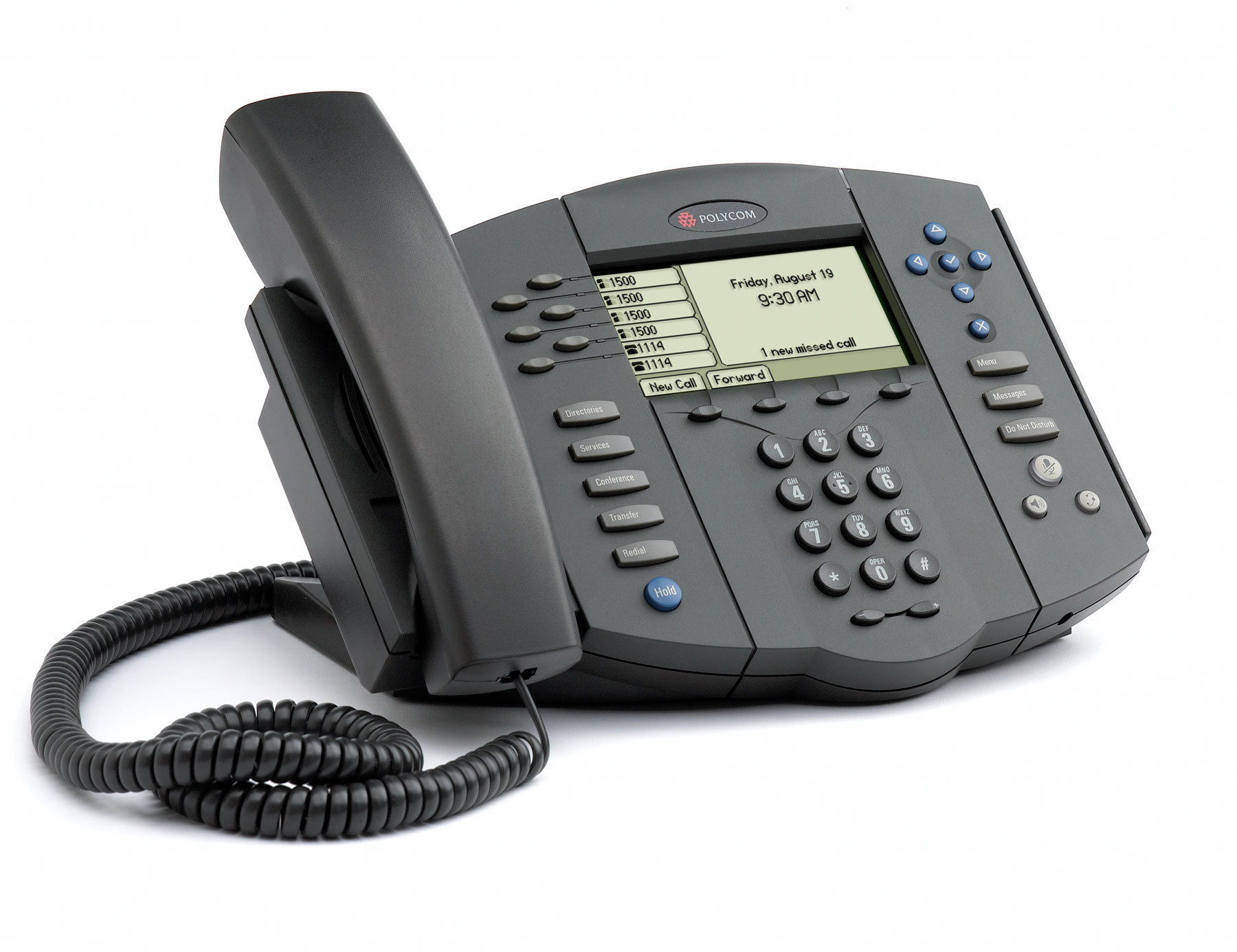 Polycom SoundPoint® IP 560 Phone $292.99 - VoIPzen
